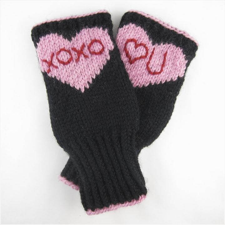 Conversation Heart Hand-warmers