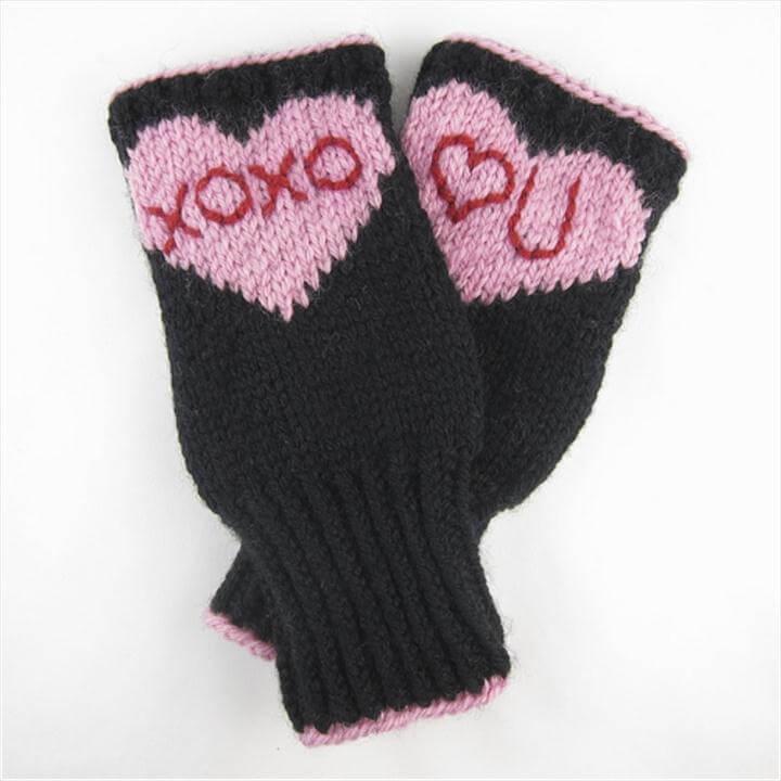 Conversation Heart Hand-warmers