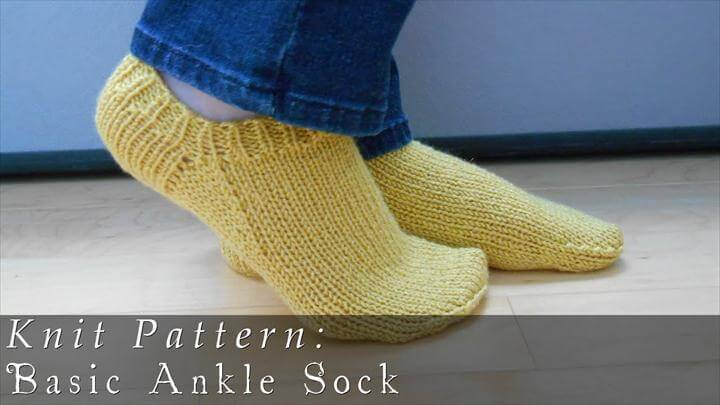 yellow ankle socks