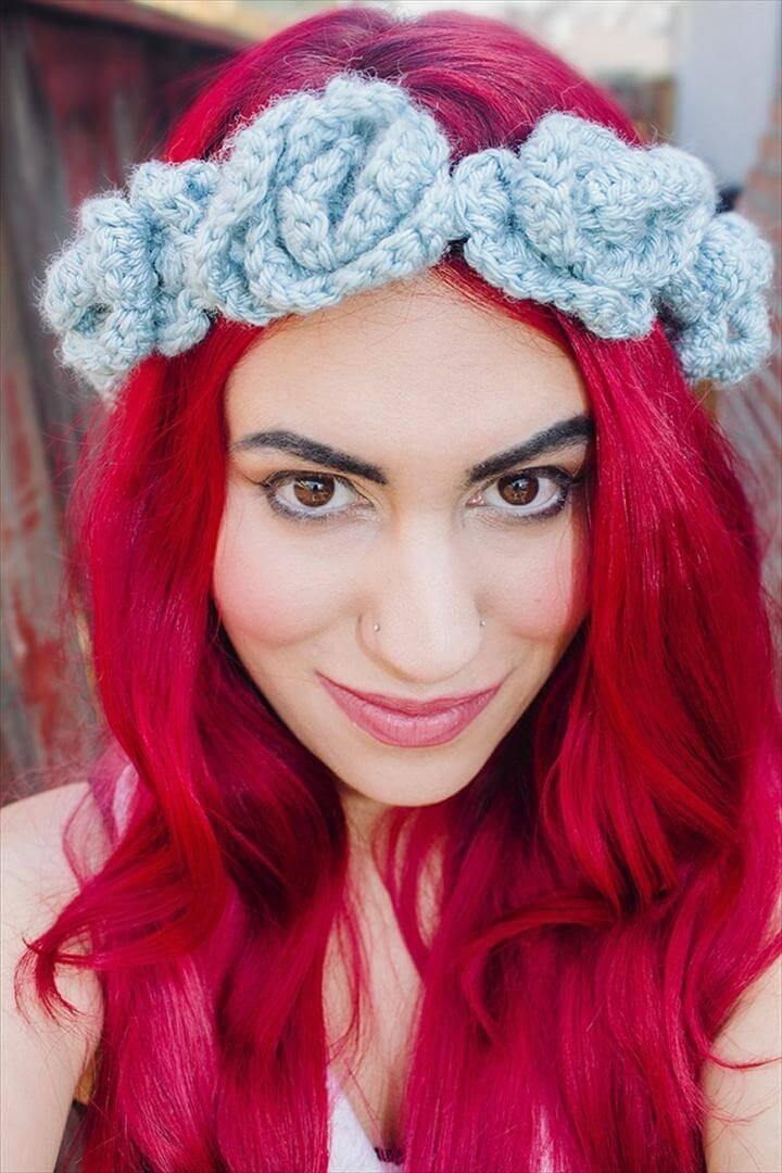 Crochet Flower Crown