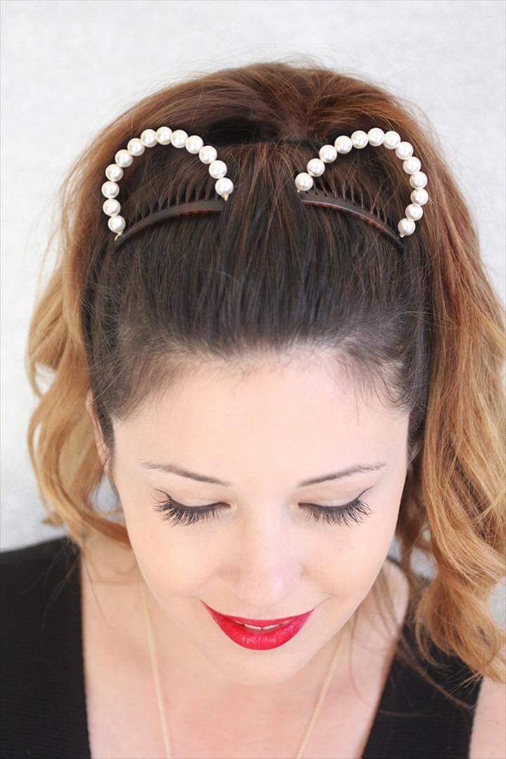 diy headband, animal headband