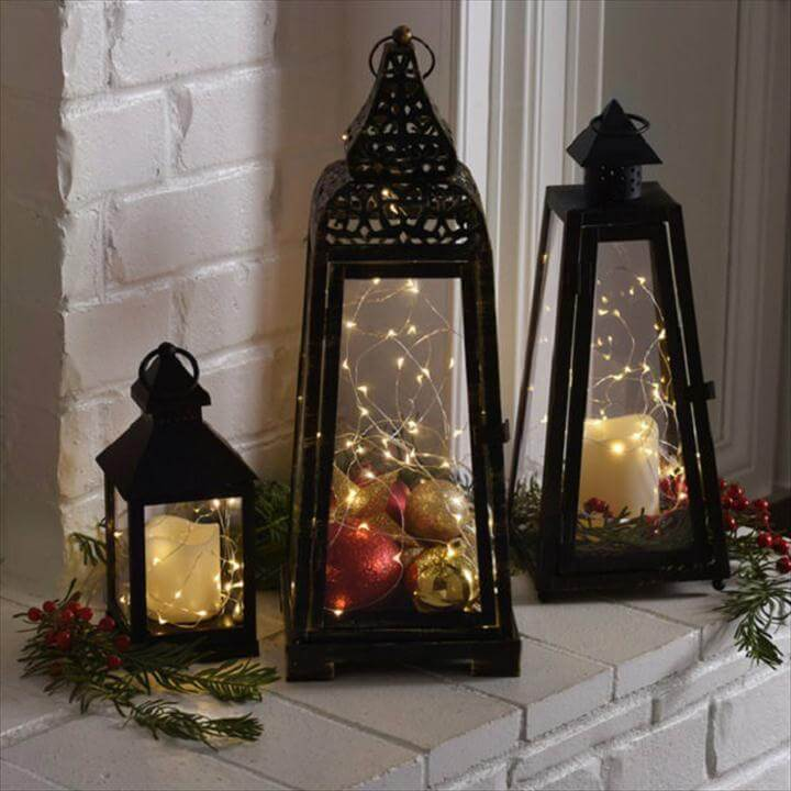 Romantic LED Lantern