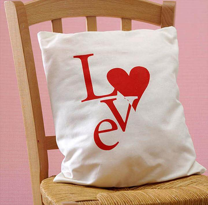 LOVE DIY Pillow