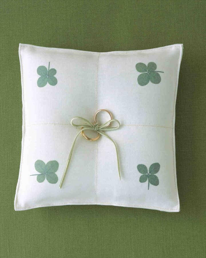 Ring Bearer Pillow Ideas You Can Make on Your Own