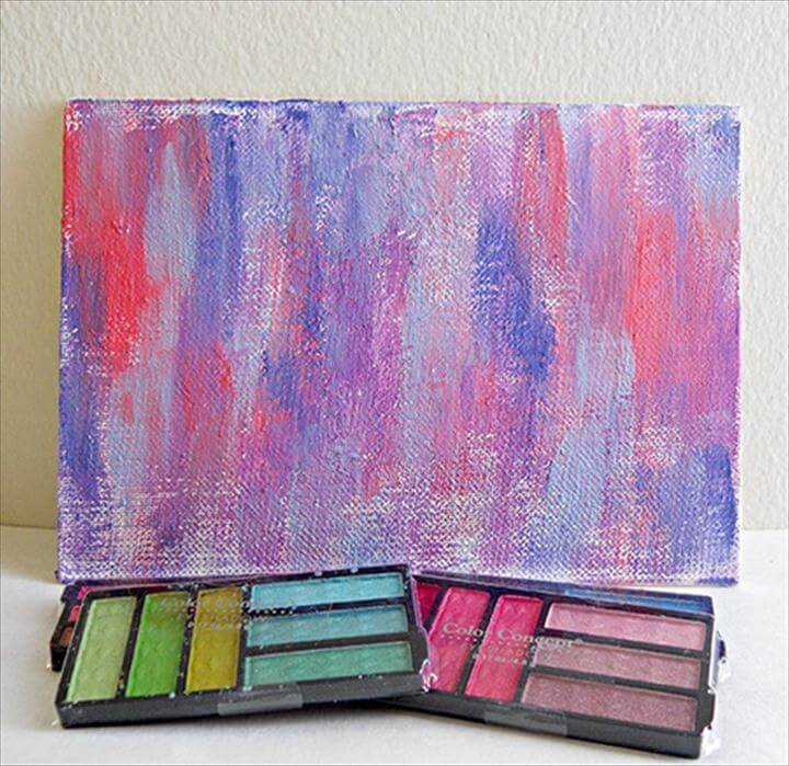 Painting With Eyeshadow