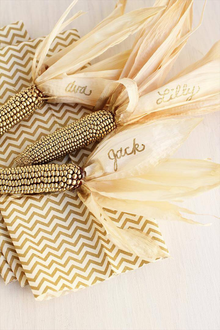 Gilded Corn