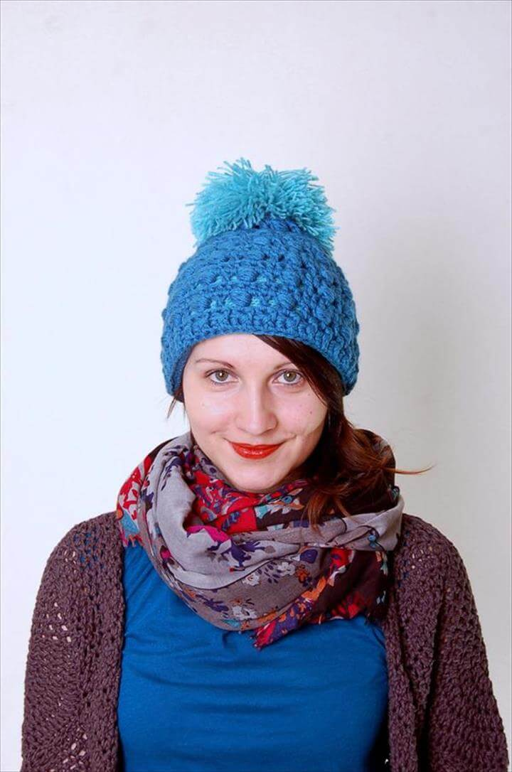 free women crochet hat