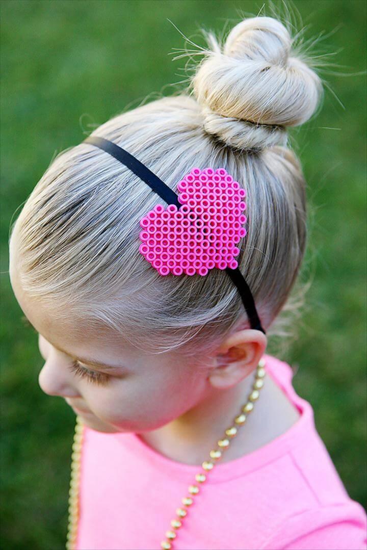 Valentines day heart headband