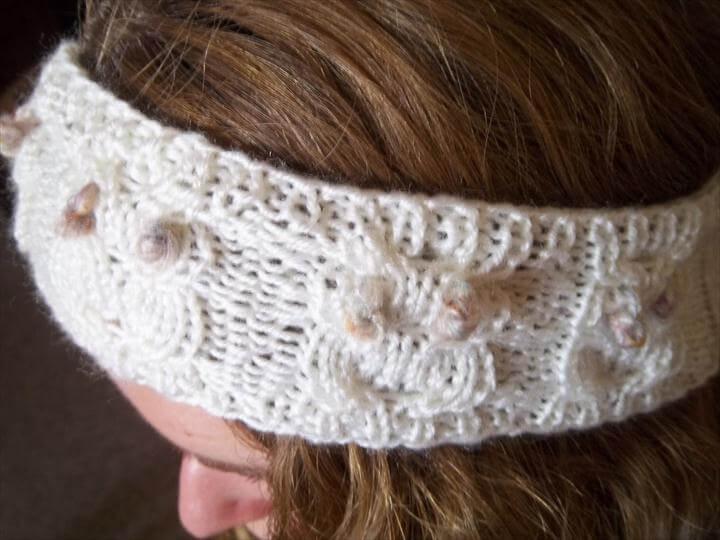 Knit Owl Headband Pattern