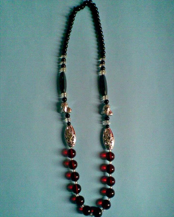 DIY Necklace,DIY Beaded N,DIY