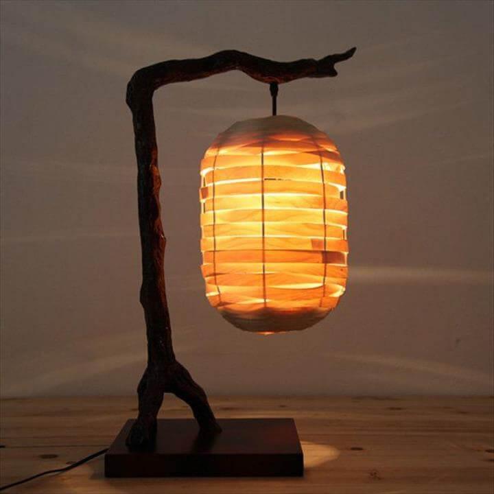 lamp diy ideas, diy home decor ideas. creative lamp ideas