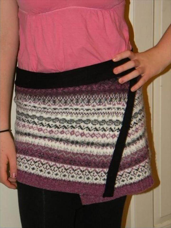 DIY Sweater Ideas,DIY Recycled Sweater,Upcycled Sweater Ideas