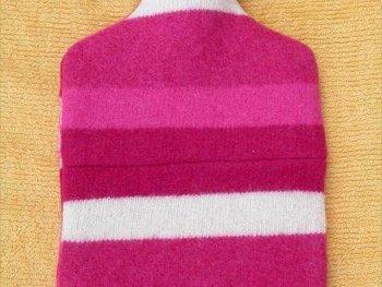 Reuse Sweater,DIY Reuse Idea,DIY Sweater Bottle