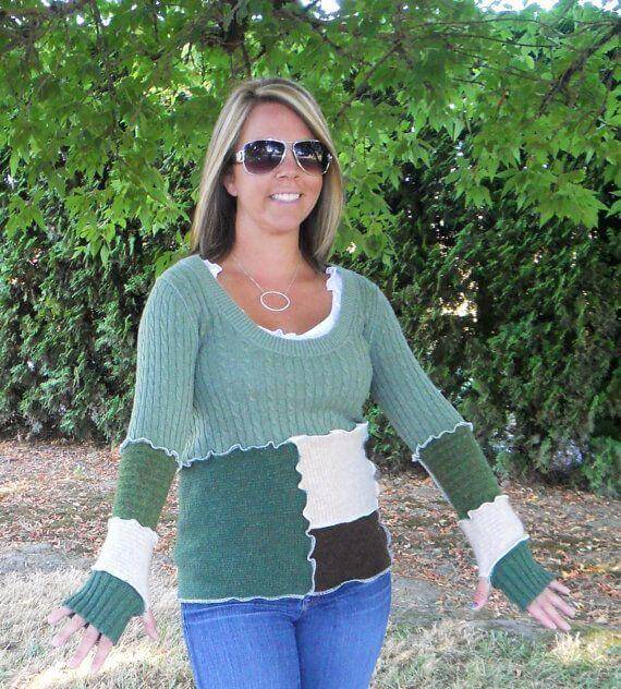 DIY Old Sweater,DIY Crafts,DIY Reuse Sweater