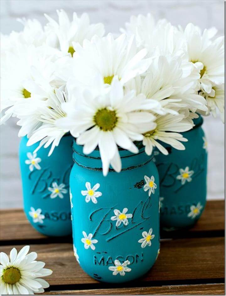 flowers mason jar, diy awesome mason jar, diy projects