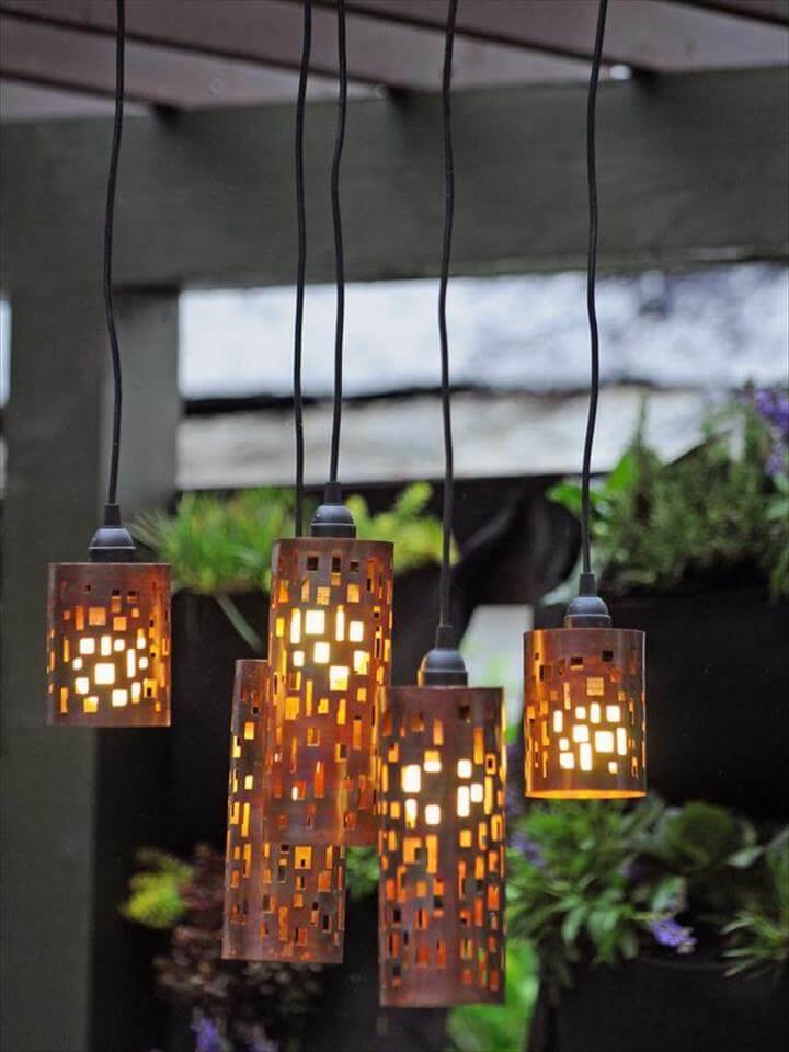 diy room decor ideas, diy hanging lamp ideas, diy home decoration ideas