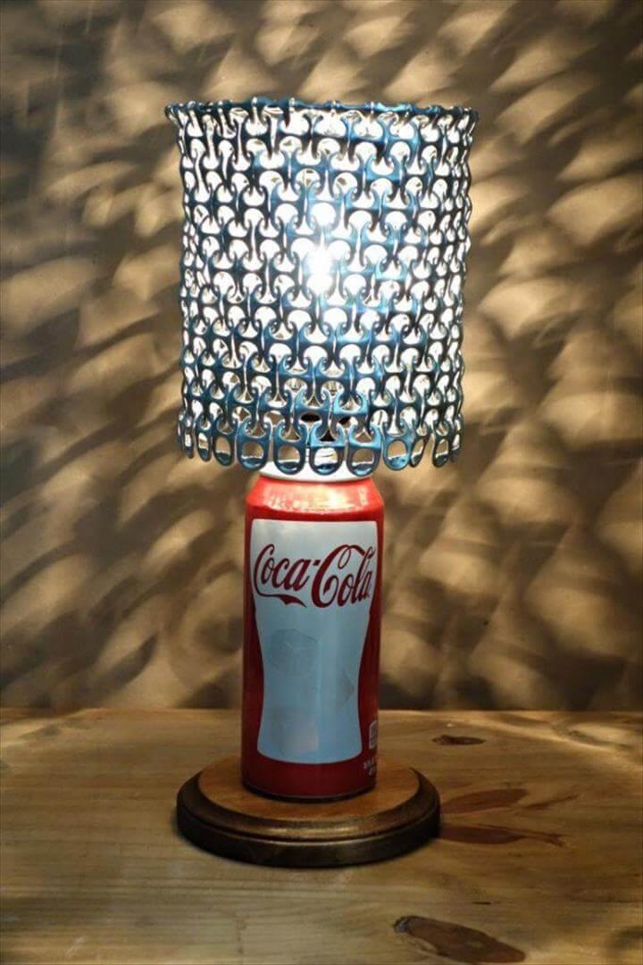 creative lamp ideas, simple lamp ideas, Handmade lamp ideas