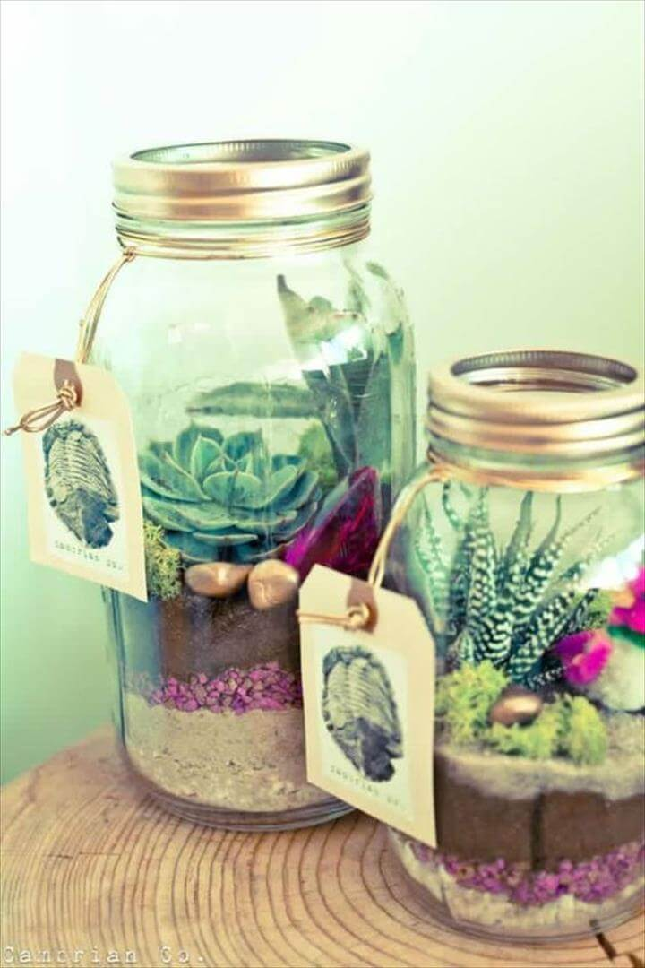 Easy mason jar, diy vegetable mason jar