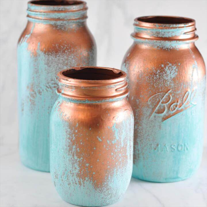 DIY mason jars, painted mason jars, diy painted mason jar ideas, painted crafts