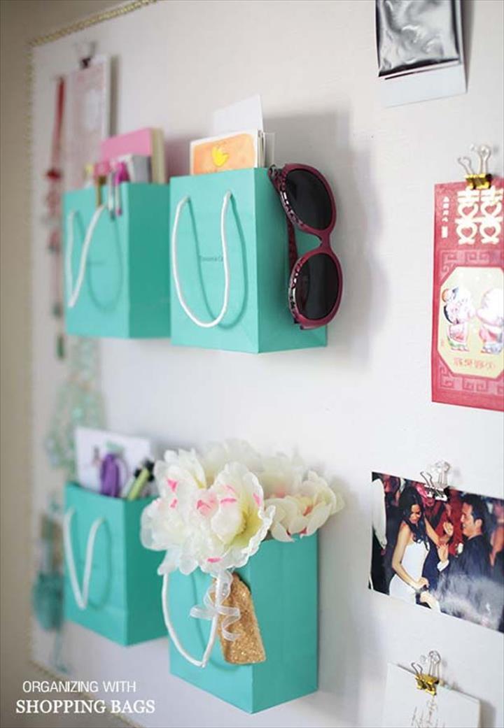wall hanging ideas, room decor ideas, bag decor ideas for room, diy room decor with bags