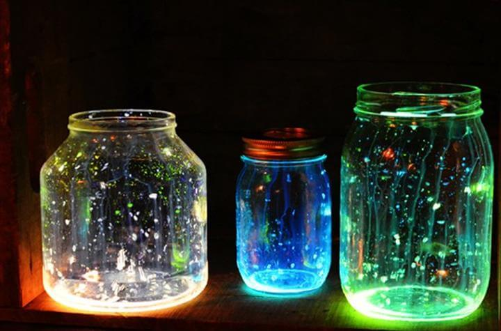 lightning mason jar, diy lightning jars, diy craft projects