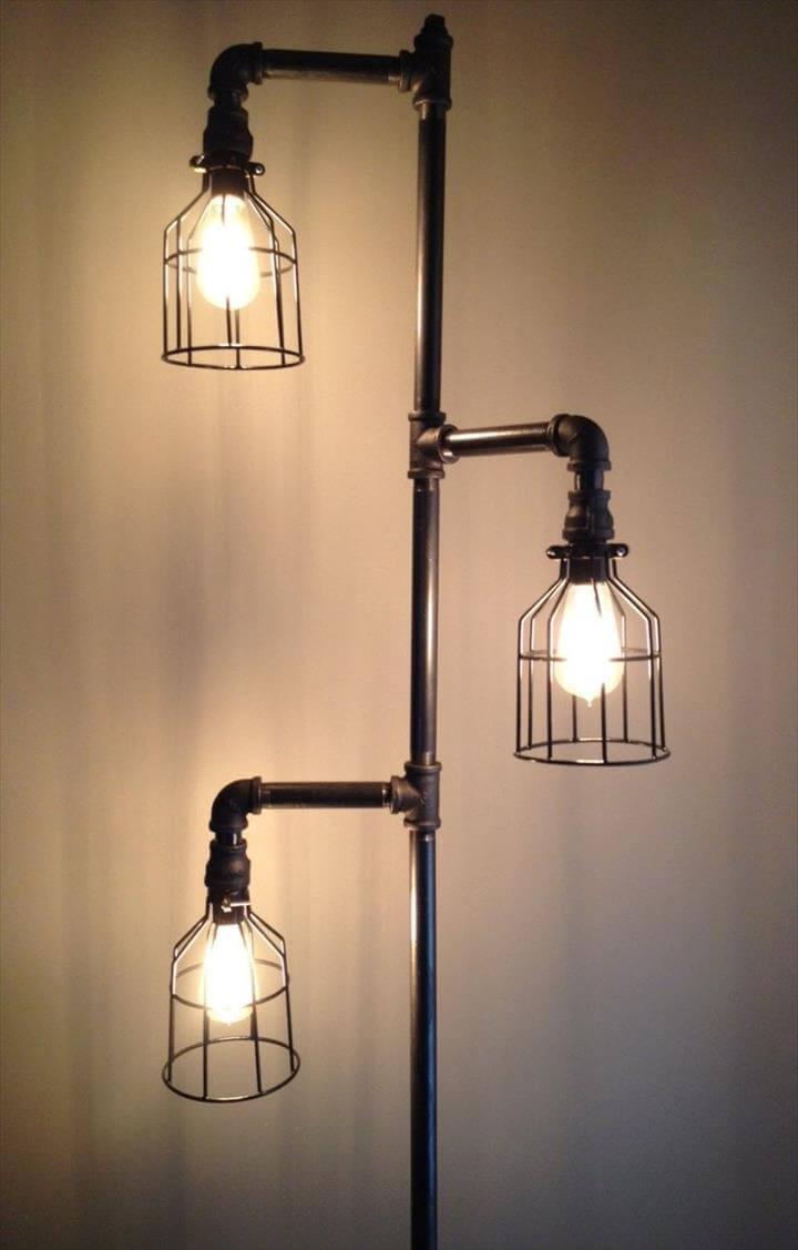 Bulb lamp idea, diy lamp ideas for home, diy simple lamps idea