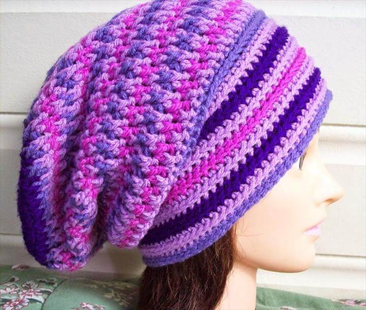 unique crochet pattern, diy unique, diy free crochet cap