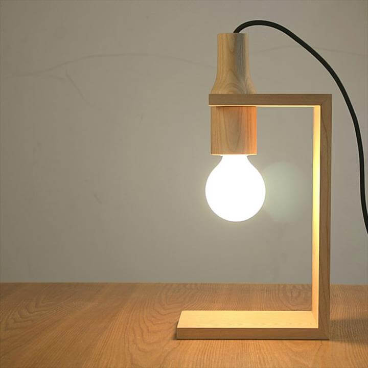 bulb lamp idea, diy bulb lamp for home decor,