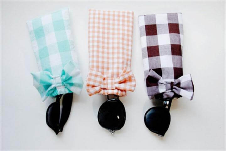 DIY Adorable Sunglasses Case Ideas