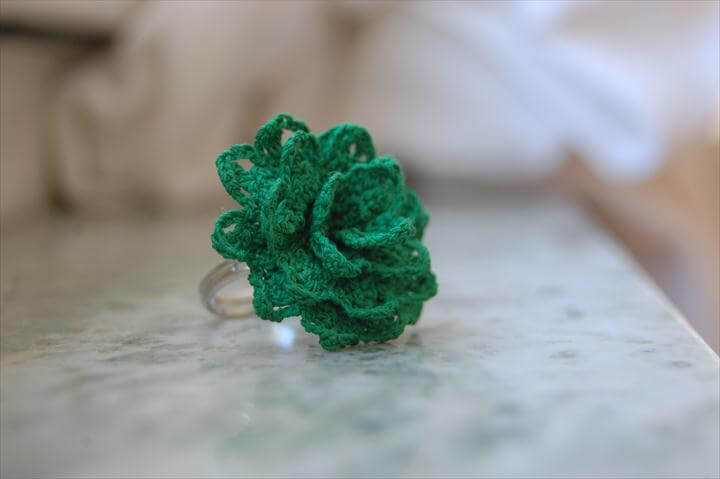 silk thread finger rings