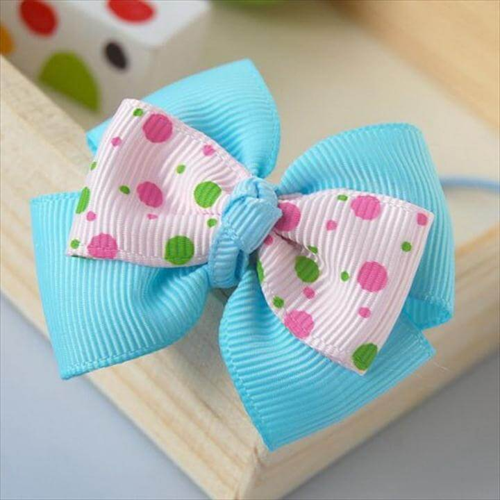 Diy bow, Handmade Hair Bows
