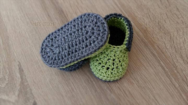 crochet booties free pattern