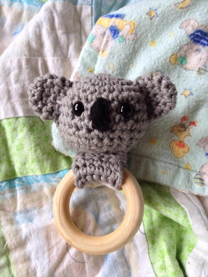 Koala Bear Teething Ring