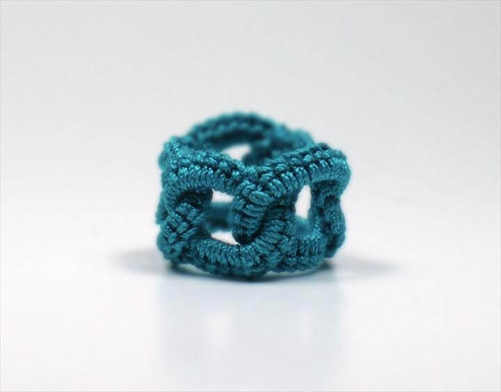 Crafts, Rings Faux, Crochet Jewelry, Crochet Things, Crochet Rings