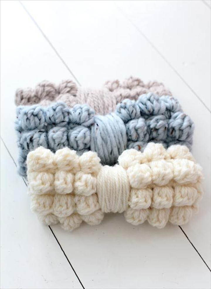 free & easy crochet bow patterns and tutorial