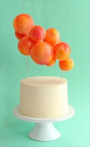 diy ballon cake topper