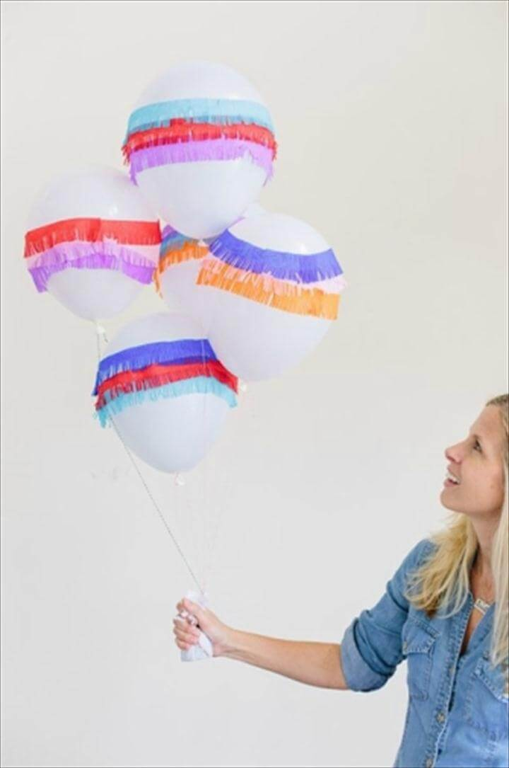 fun DIY balloons c