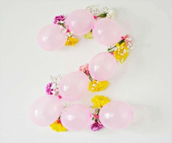 diy combine balloons