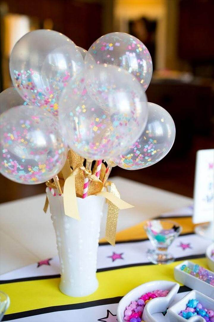 Balloon Wands Unicorn Birthday Party Decoration