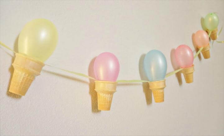Fancy a fun ice cream garland