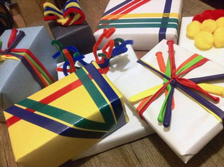 Last Minute Gift Ribbons