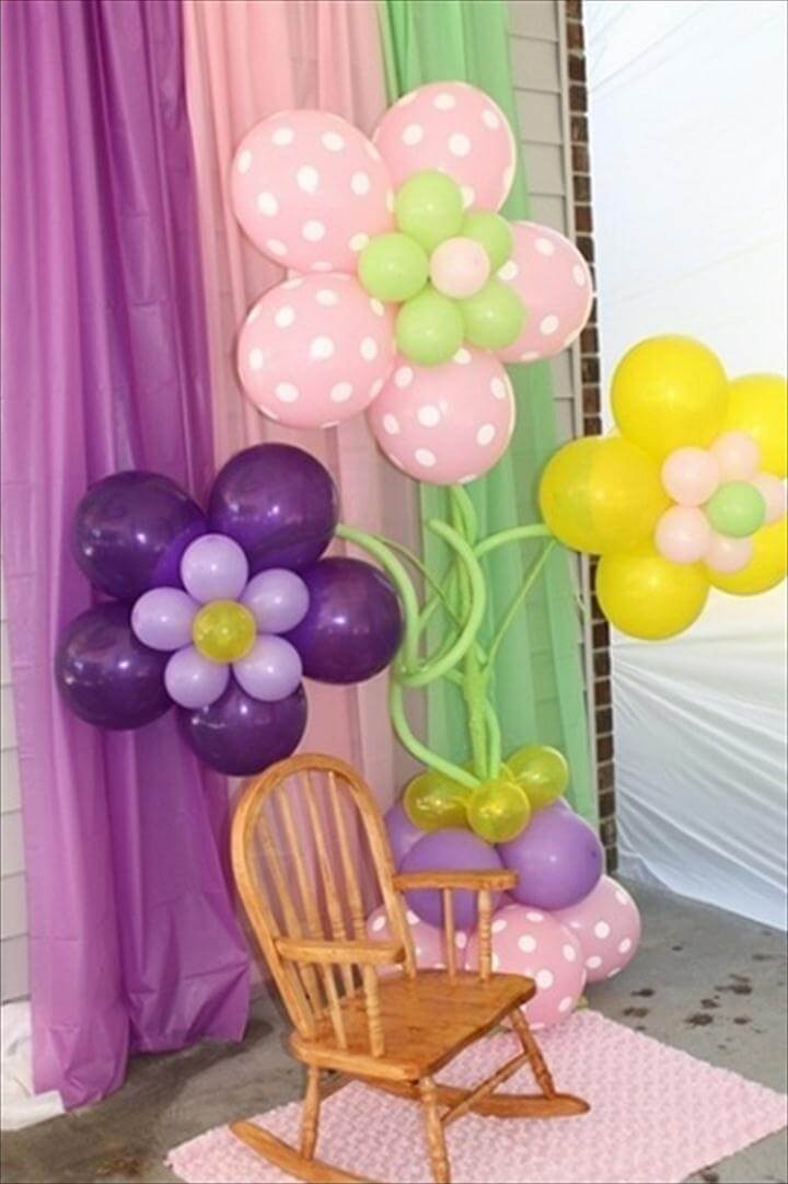 Birthday idea · Wonderful DIY Pretty Balloon