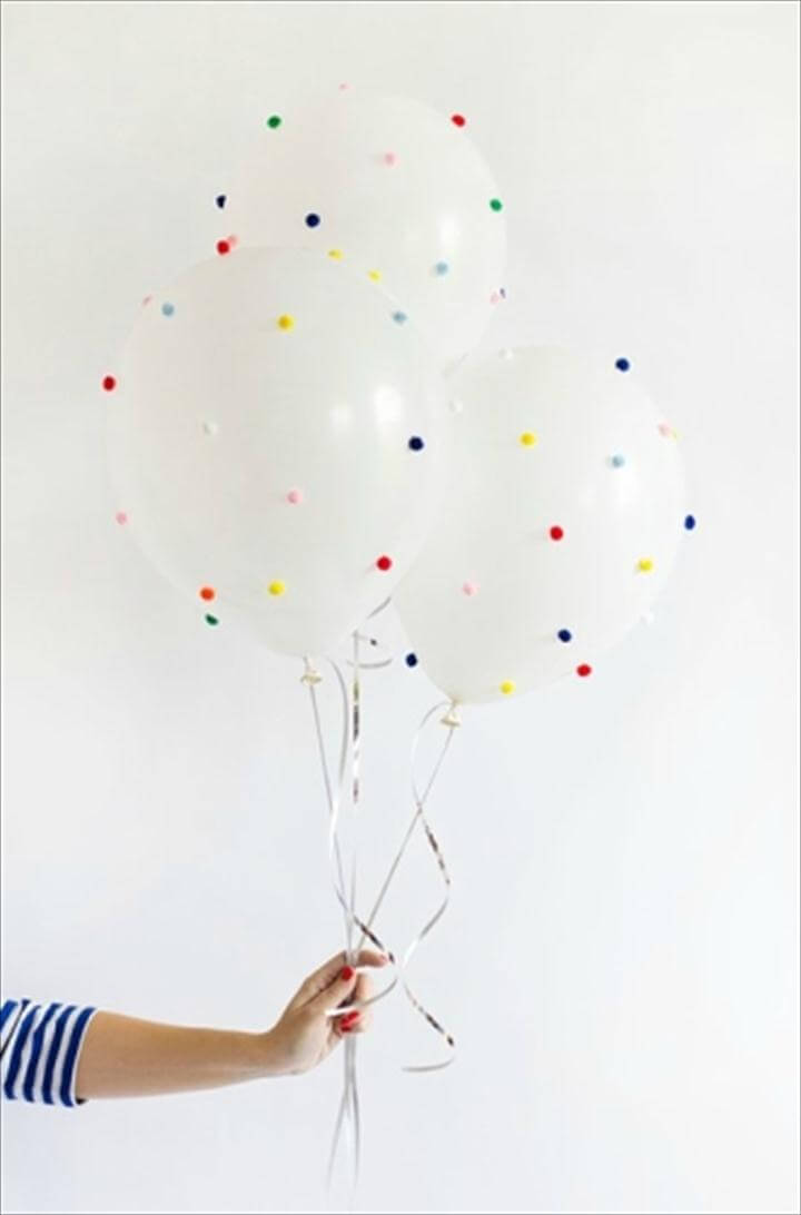 jazz-up plain balloons
