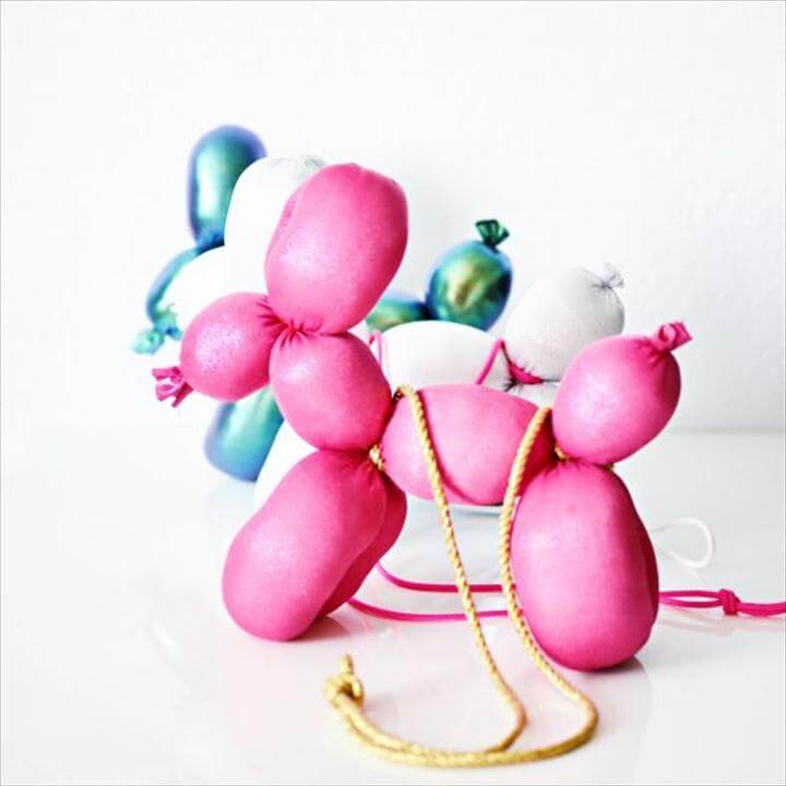 DIY Balloon Animal Purse