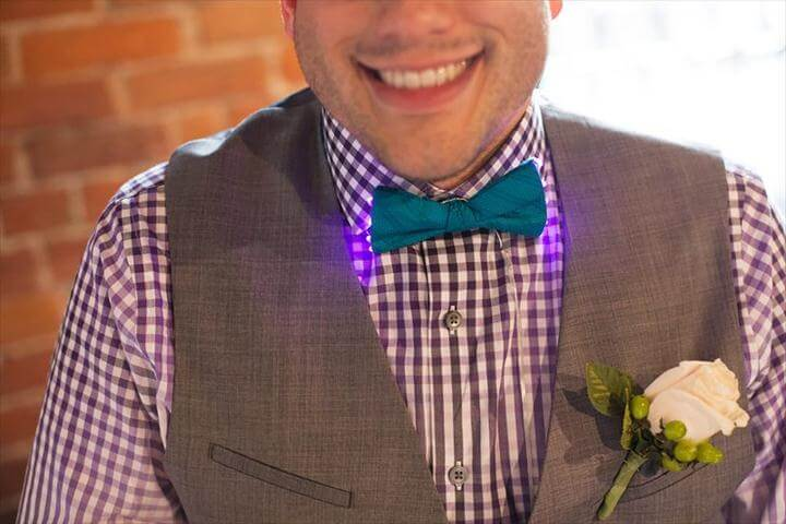 DIY Bow Tie — With Lights!