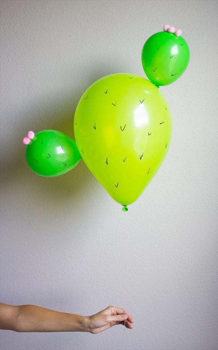 DIY Cactus Balloon