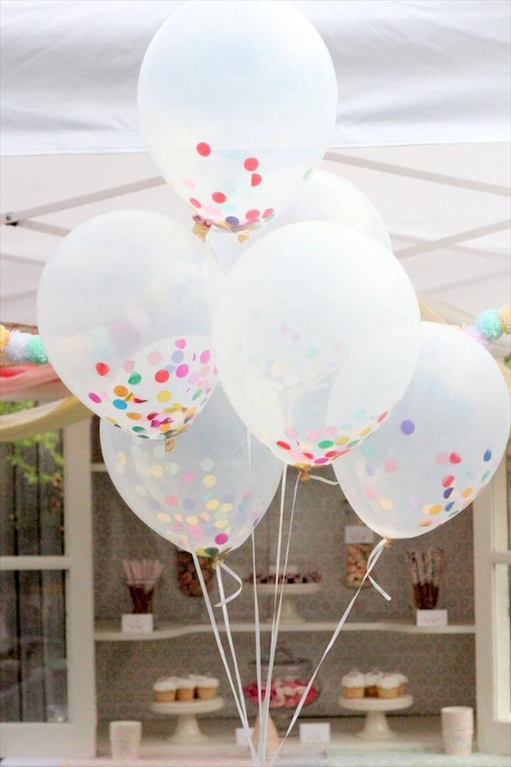 Confetti Balloon.