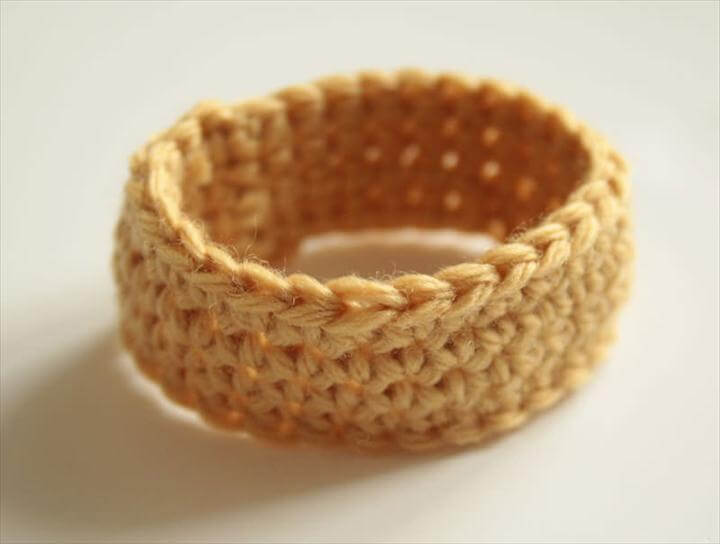 Crocheted Napkin Rings