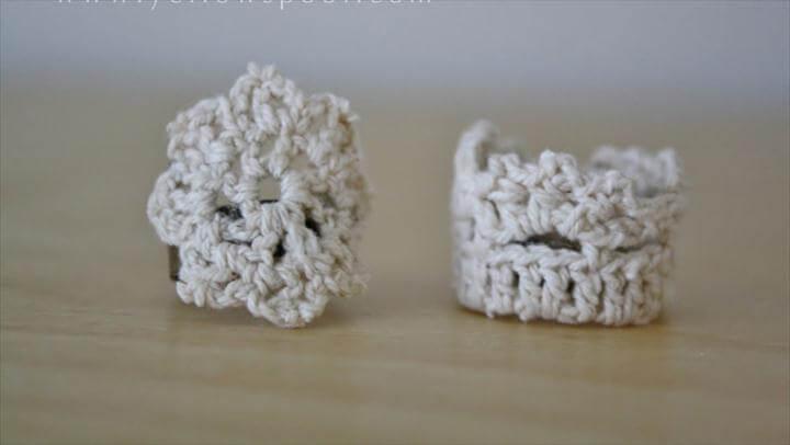 nice crochet rings