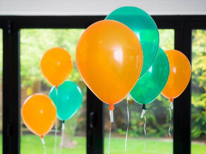 diy balloon party